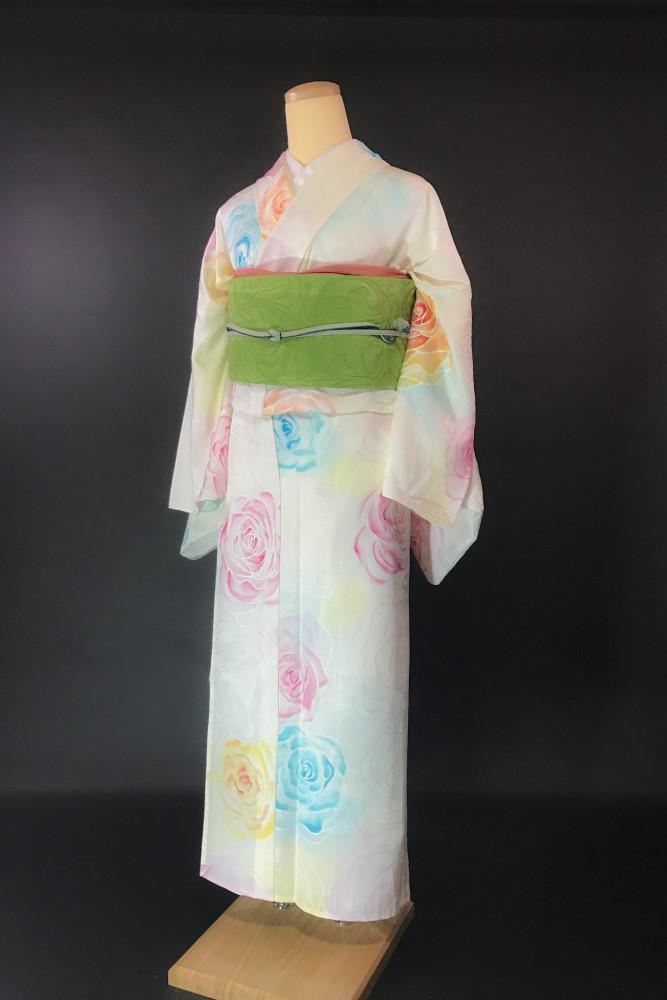 今日の着物コーデ♬『つなぐ』特選復刻版オリジナル着物
