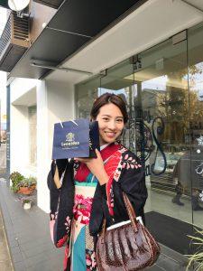和服漫步游街 in 京都
