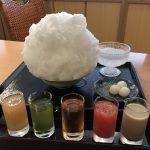 ブーム来る!京のかき氷特集②:五色のシロップが美しすぎる、二條若狭屋寺町店「彩雲」
