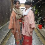 穿著和服,體驗冬天的京都~