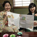 雨の日も楽しみな、京都おとな旅*思わずハマる!京友禅作家さんが教える、友禅染めの彩色体験